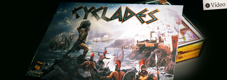 Cyclades: Unboxing