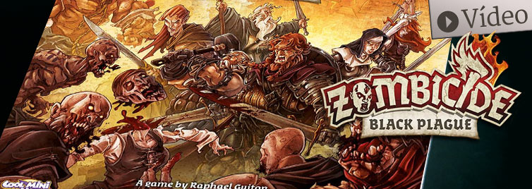 Zombicide Black Plague: Unboxing