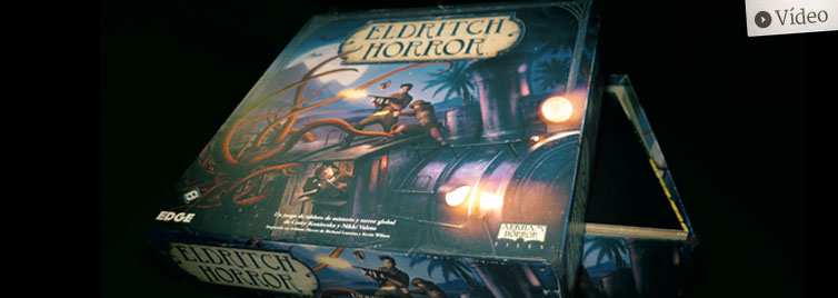 Eldritch Horror: Unboxing