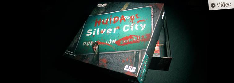 Huida de Silver City: Unboxing